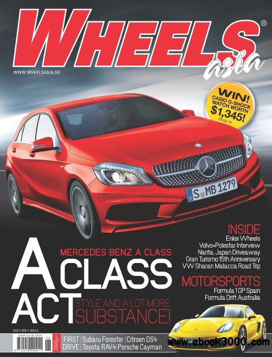 Wheels Asia - June 2013 free download