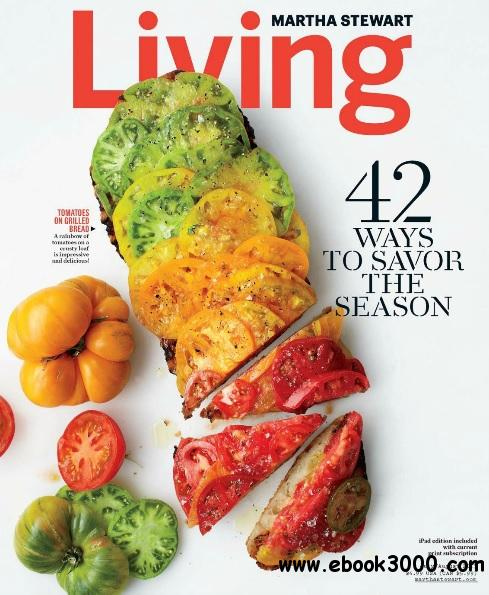 Martha Stewart Living - July/August 2013 free download
