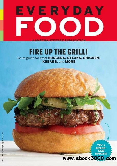Everyday Food - July 2013 free download