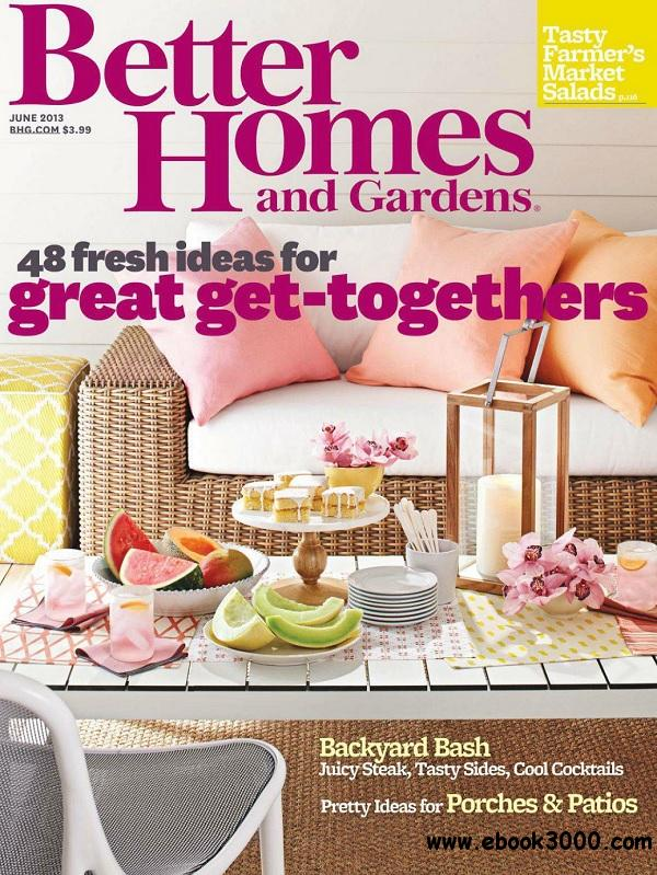 Better homes and gardens june 2013 usa free ebooks Better homes and gardens download