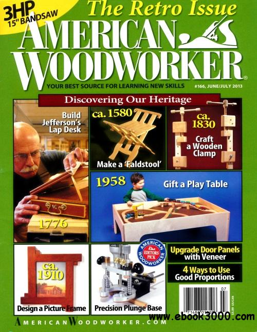 American Woodworker #166 free download