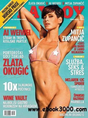 Playboy Slovenia - July 2013 free download