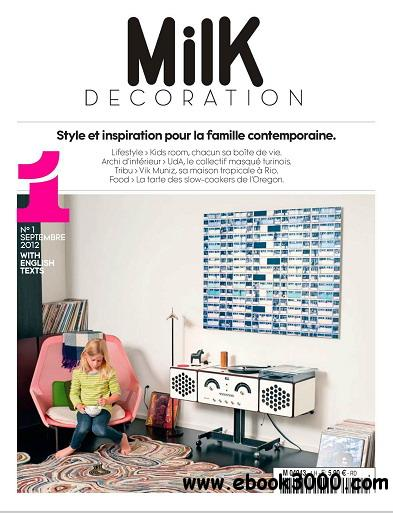 Milk Decoration Magazine No.1 free download