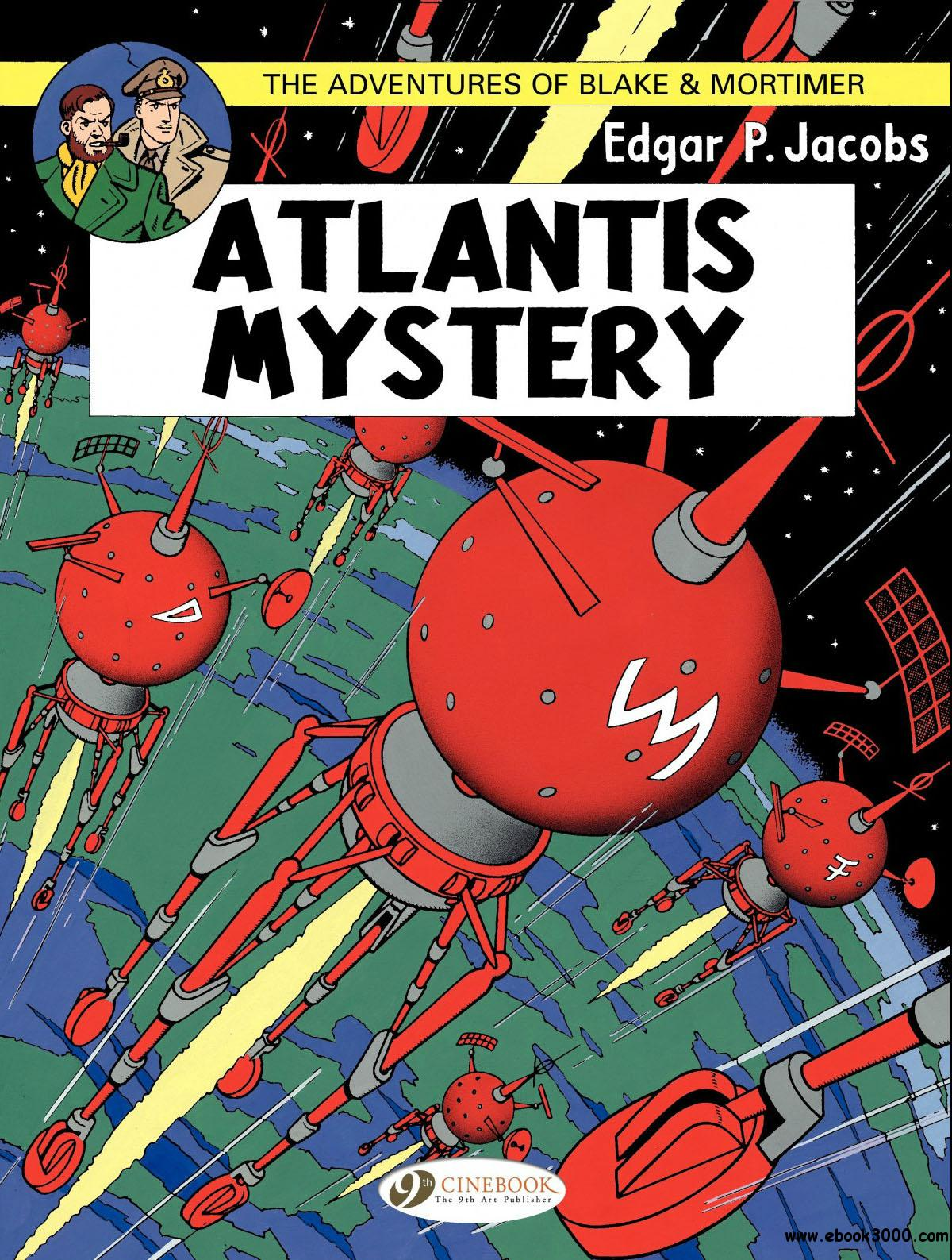 Blake and Mortimer 12 - Atlantis Mystery free download