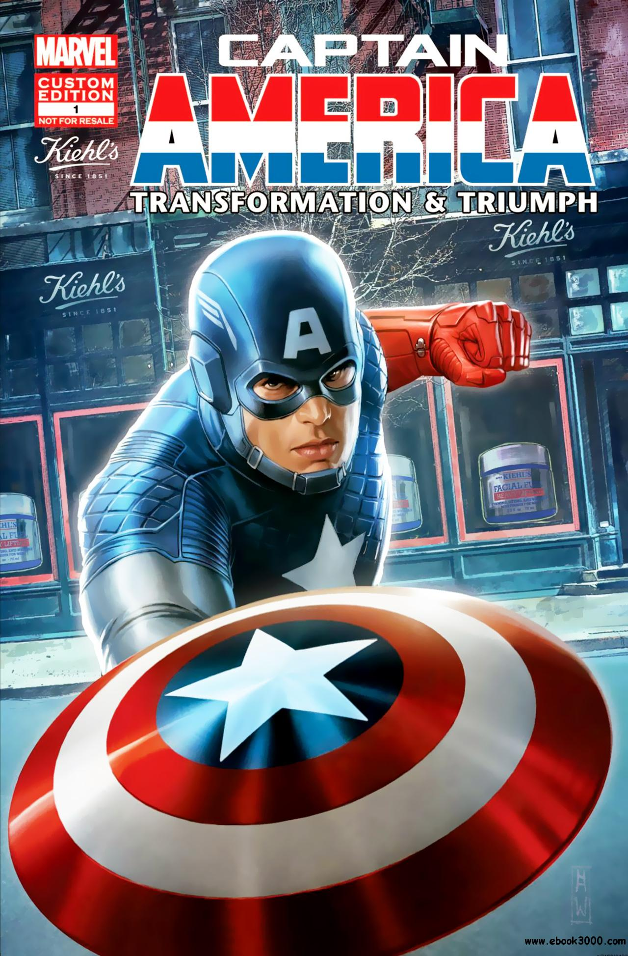 Captain America - Transformation and Triumph 001 (2013) free download