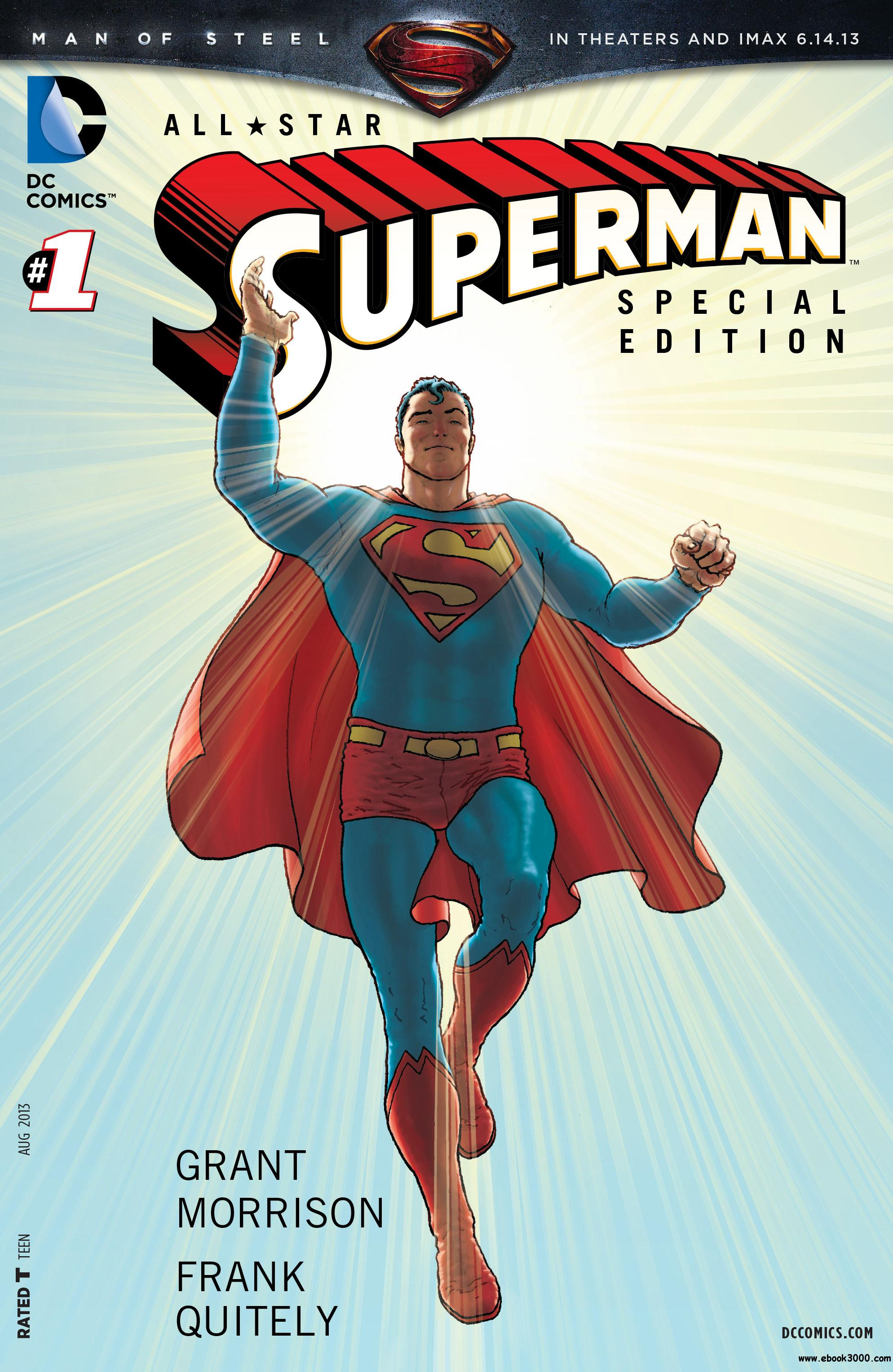 Man of Steel - All-Star Superman Special Edition 001 (2013) free download