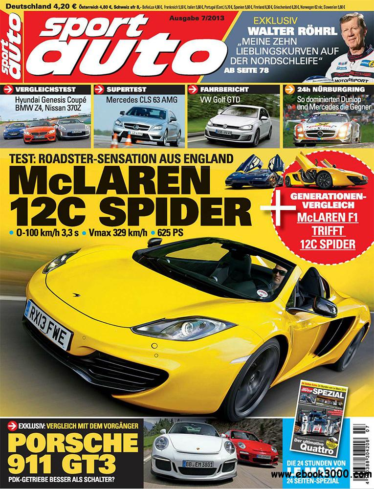 Sport Auto Juli 2013 (Germany) free download