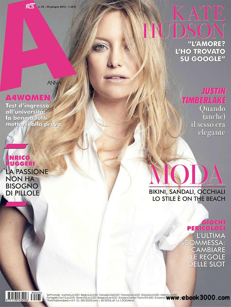 A - Anna Magazine 20 Giugno 2013 (Italy) free download
