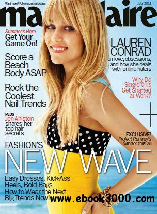 Marie Claire USA - July 2013 free download