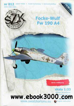 Focke-Wulf Fw 190 A4 (Swiat z Kartonu 12) free download
