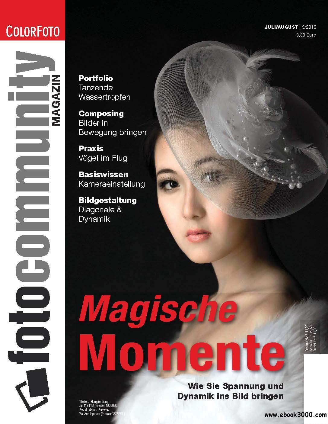fotocommunity Magazin Juli/August 03/2013 free download