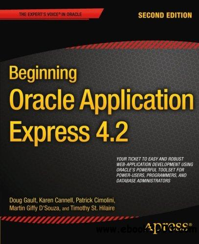 Beginning Oracle Application Express 4.2, 2nd edition free download