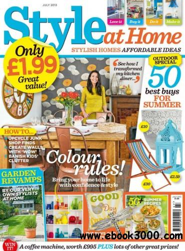 Style At Home - July 2013 free download