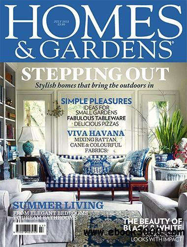 Homes & Gardens July 2013 (UK) free download