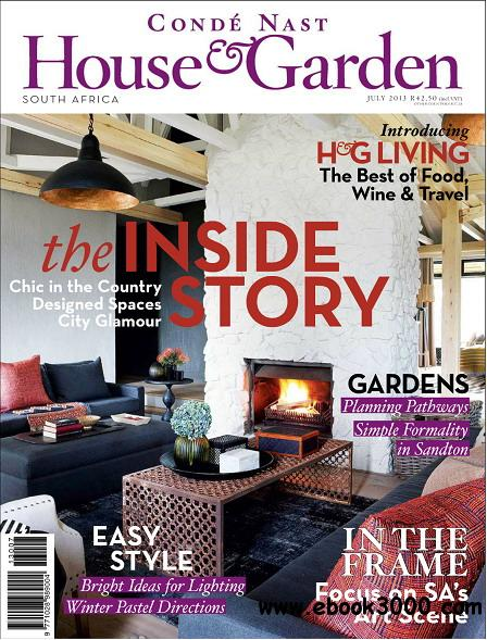 Conde Nast House & Garden Magazine July 2013 free download