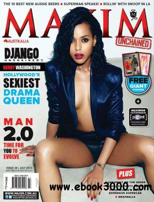 Maxim Australia - July 2013 free download