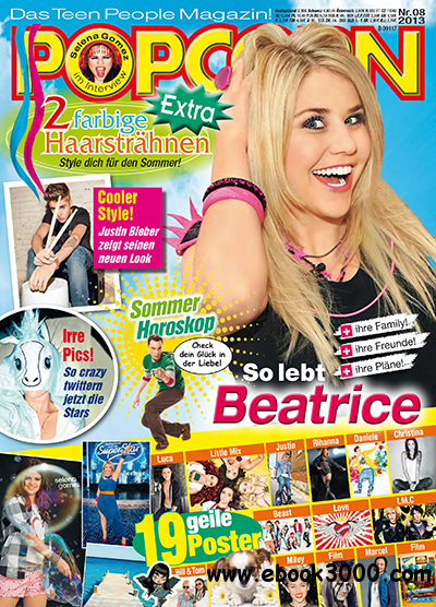 POPCORN Das Teen People Magazin No 08 2013 free download