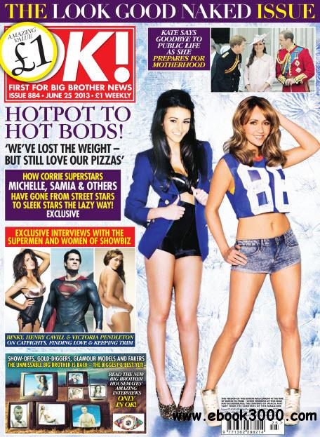 OK! First for Celebrity News N.884 - June 25, 2013 free download