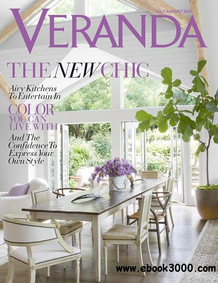 Veranda Magazine July/August 2013 free download