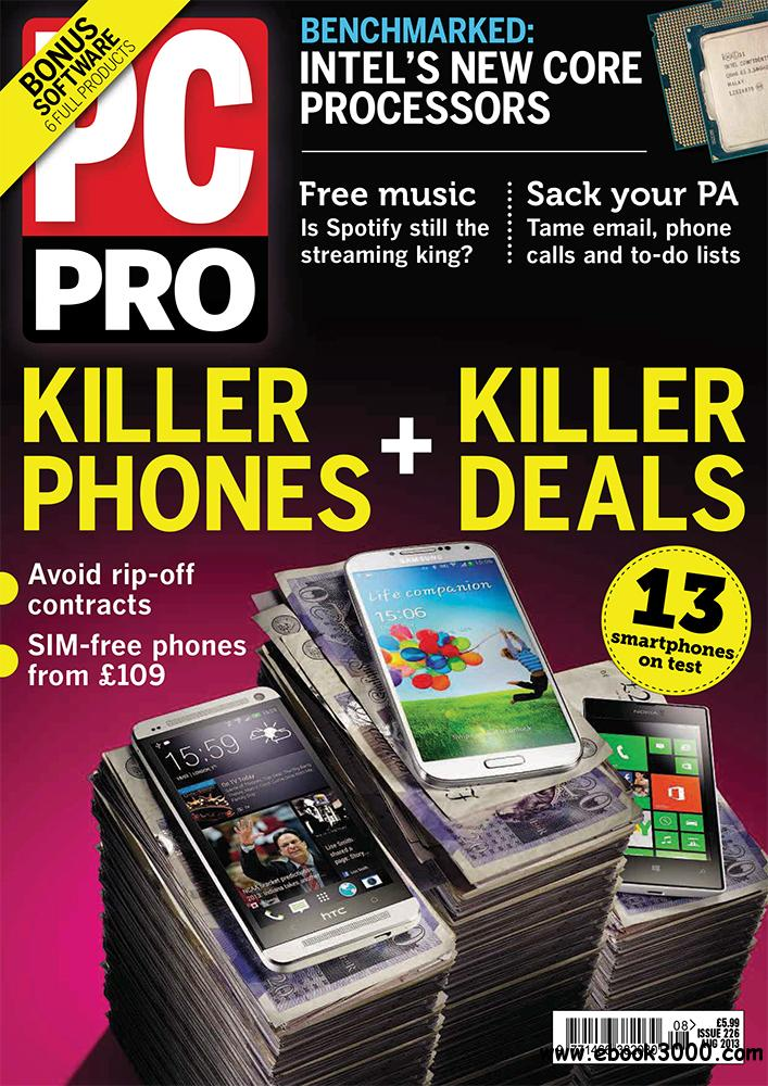 PC Pro August 2013 (UK) free download