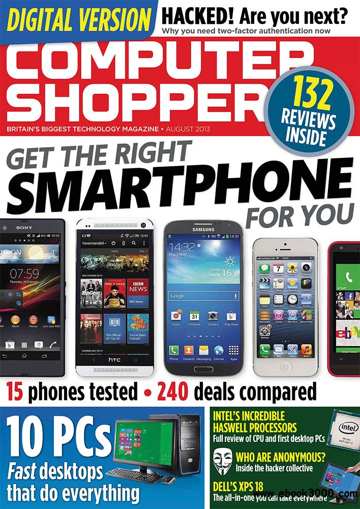 Computer Shopper August 2013 (UK) free download