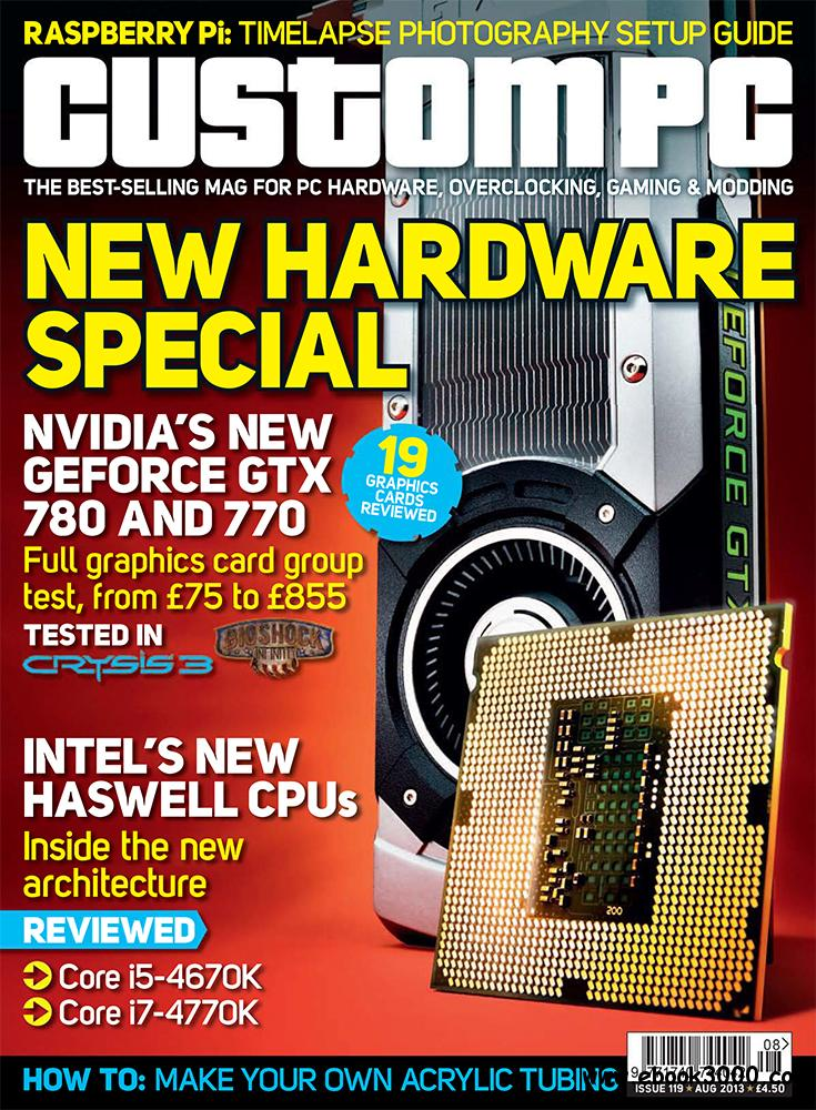 Custom PC August 2013 (UK) free download