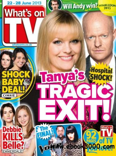 What's on TV - 22 June 2013 free download