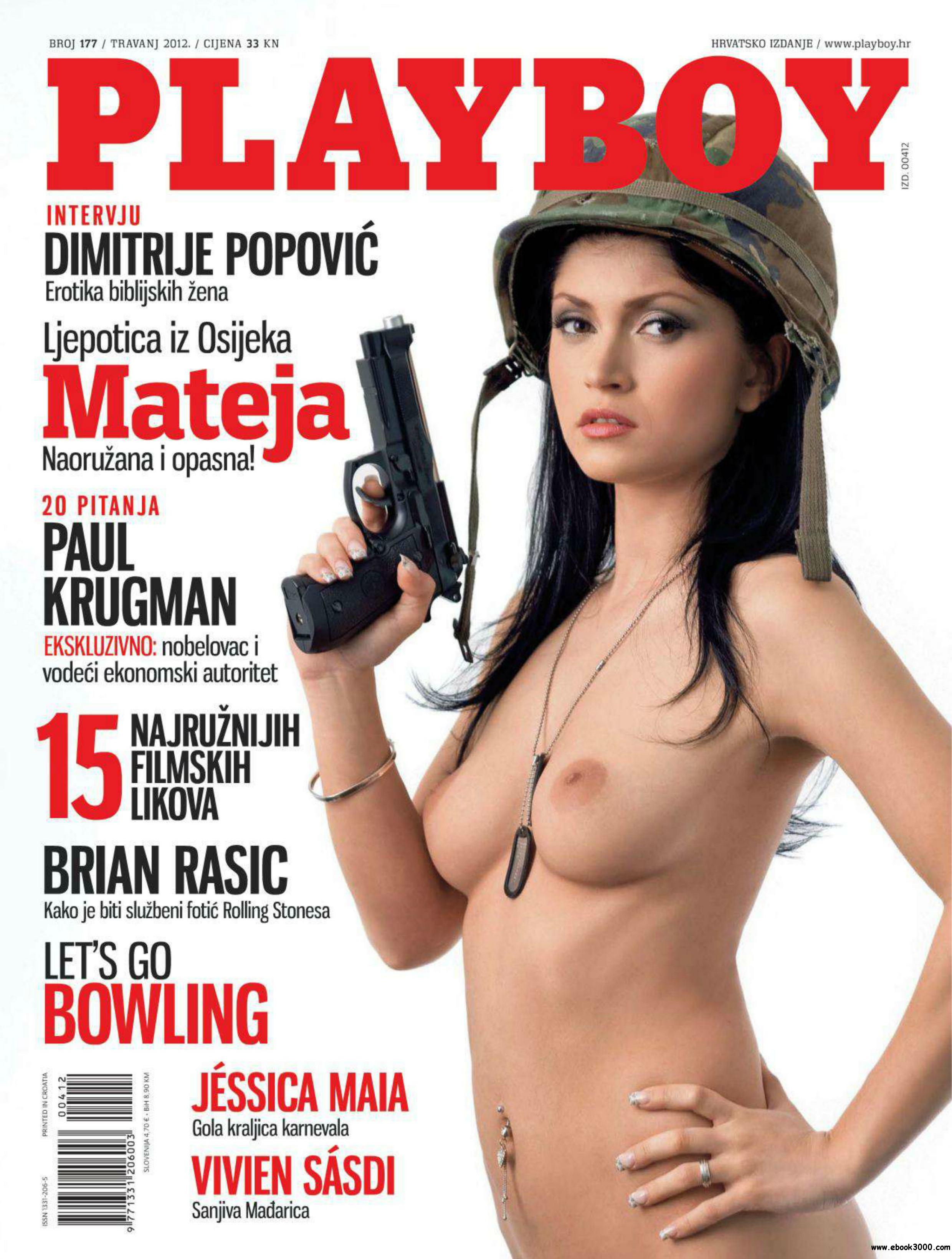 Playboy Croatia - April 2012 free download