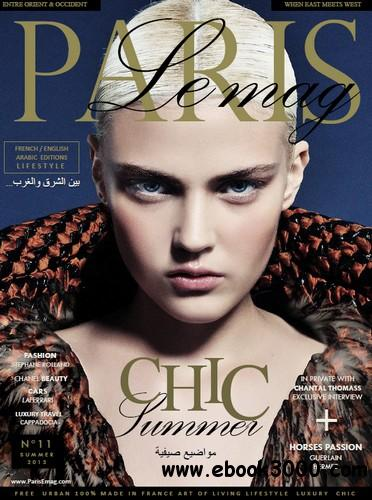 Paris Le Mag - Summer 2013 free download