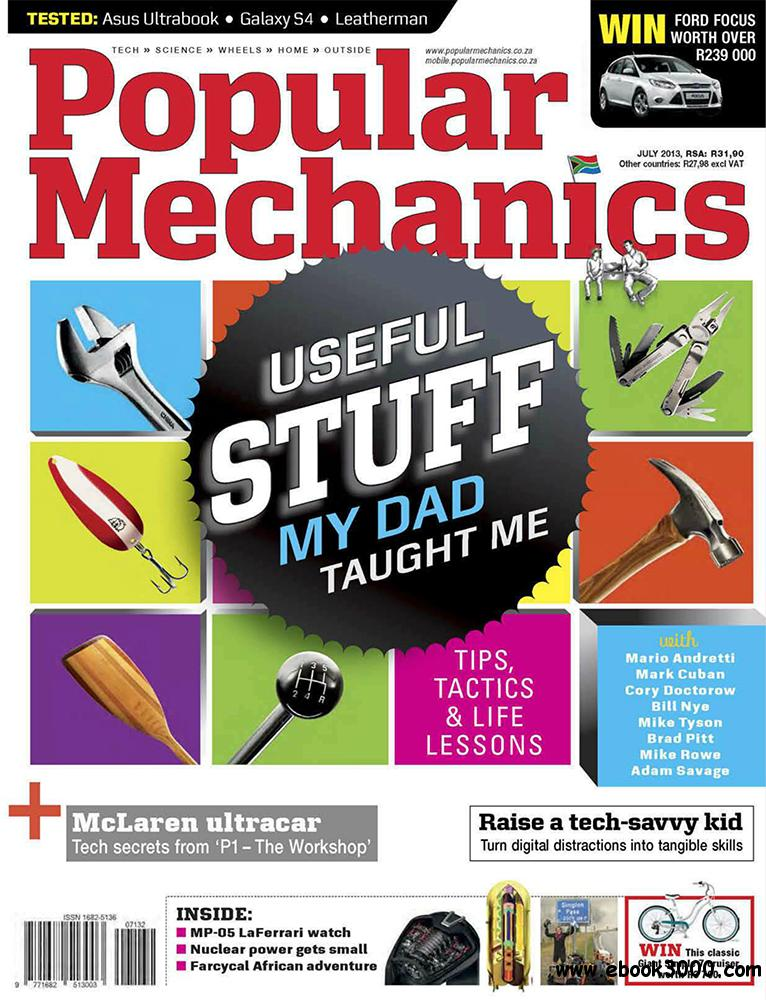 Popular Mechanics July 2013 (South Africa) free download