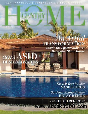 Gentry Home - July/August 2013 free download