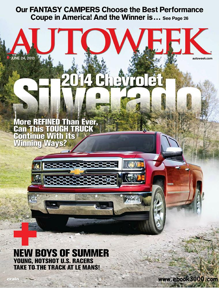 Autoweek 24 June 2013 (USA) free download