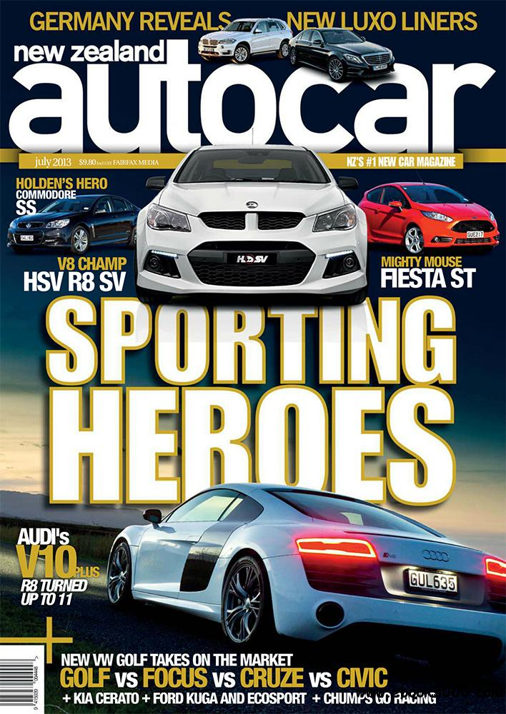 NZ Autocar July 2013 (New Zealand) free download