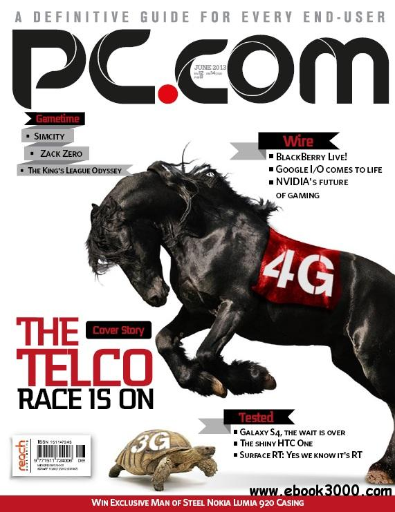 PC.com - June 2013 free download