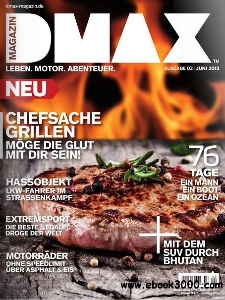 DMAX Magazin Juni 02/2013 free download