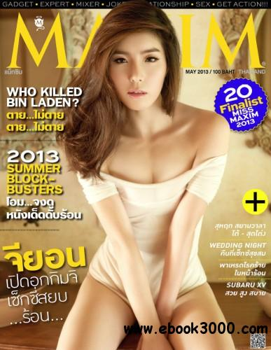 Maxim Thailand - May 2013 free download