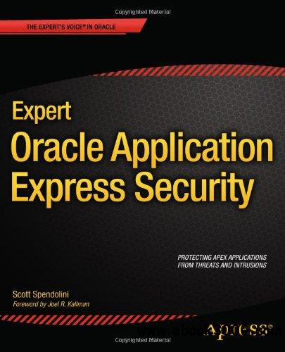 Expert Oracle Application Express Security free download
