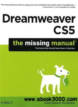 Dreamweaver CS5.5: The Missing Manual free download