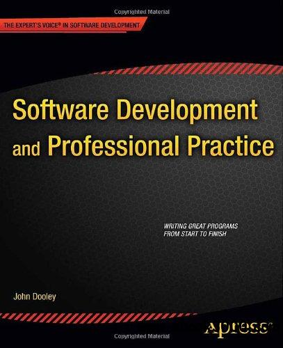 Software Development and Professional Practice free download