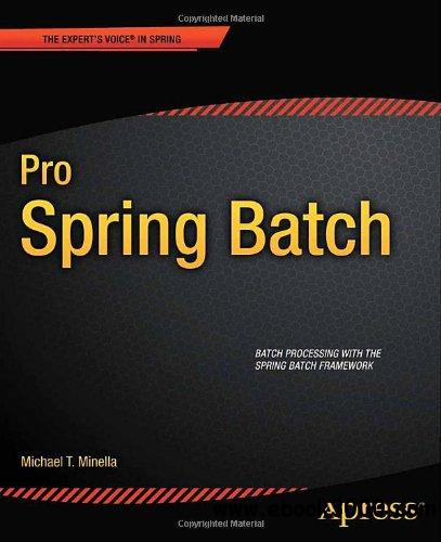 Pro Spring Batch free download