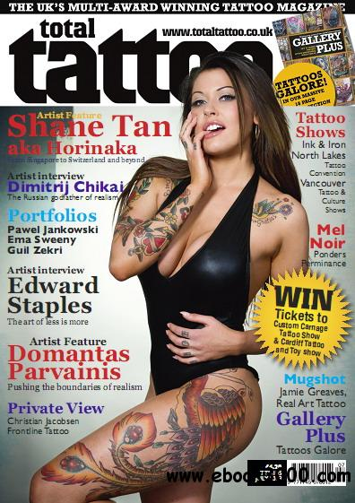 Total Tattoo Magazine July 2013 free download