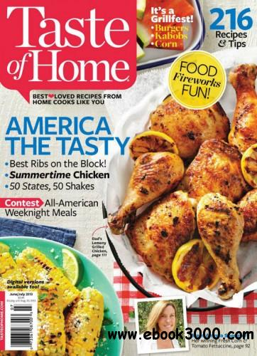 Taste of Home - June July 2013 free download