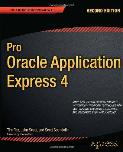 Pro Oracle Application Express 4, 2nd Edition free download