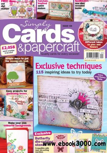 Simply Cards & Papercraft #109 free download