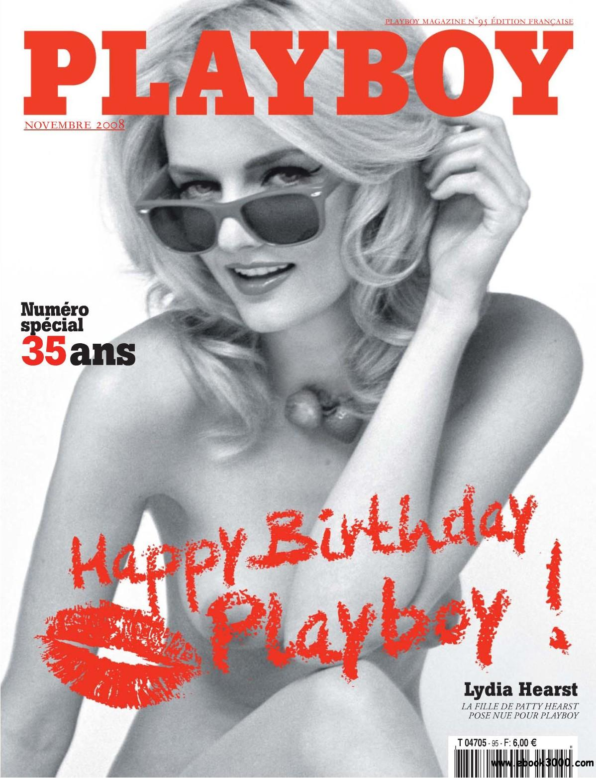 Playboy France - November 2008 free download