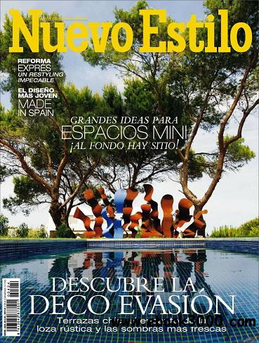 Nuevo Estilo Magazine July 2013 free download