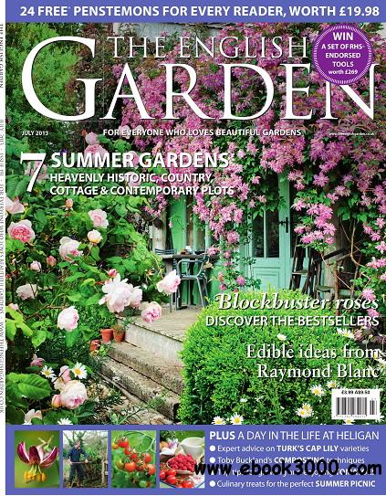 The English Garden Magazine July 2013 free download