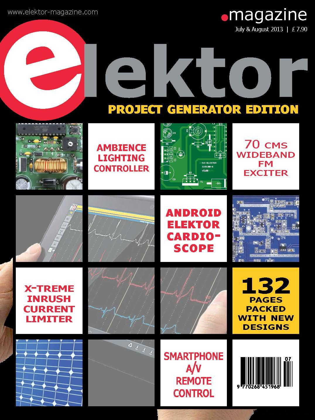 elektor UK July/August 07-08/2013 free download