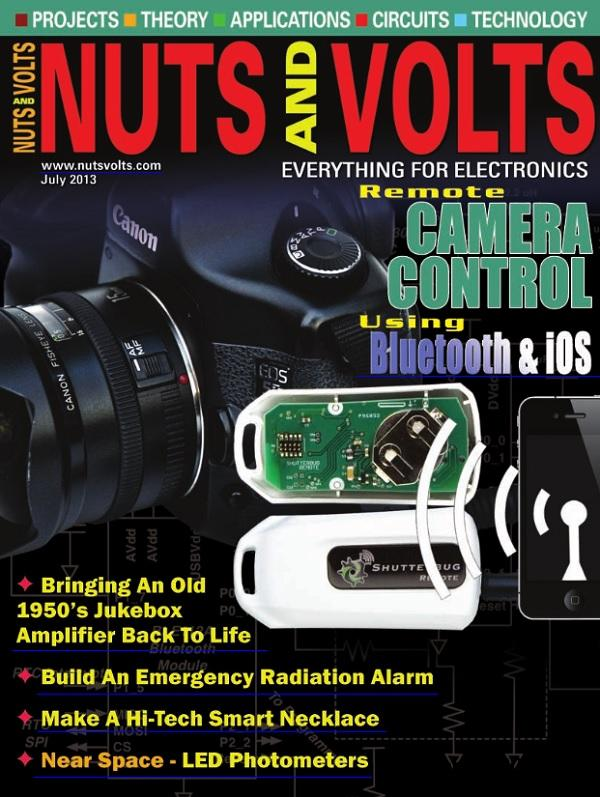 Nuts and Volts No.07 - July 2013 free download