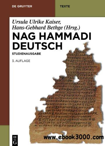 Nag Hammadi Deutsch: Studienausgabe, 3 Auflage download dree